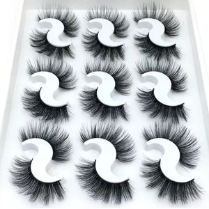 6D Mink Black Eye Lashes Makeup Women Eyelash New